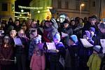 Česko zpívá koledy v Týně nad Vltavou.