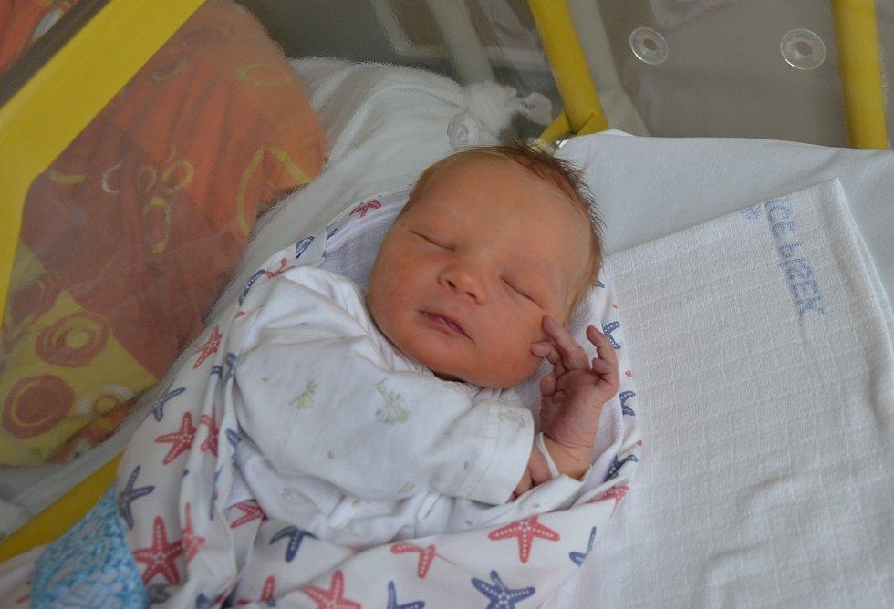 Filip Šebák z Písku. Prvorozený syn Žanety a Zdeňka Šebákových se narodil 5. 11. 2020 ve 13.17 hodin. Při narození vážil 3300 g a měřil 49 cm.