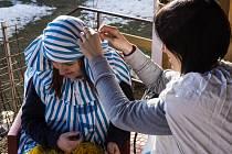 Přípravy na masopust ve Štěpánovicích jsou v plném proudu.