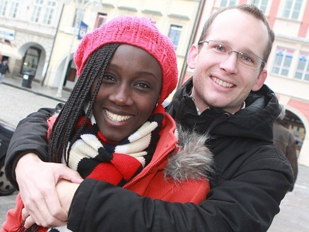 Domů do Budějovic se Dominik Hes vrátil před Vánoci. Přijela s ním i manželka Marléne.