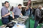 Netradiční gurmánské zážitky nabídl svým návštěvníkům 21. ročník Gastrofestu. Na českobudějovické výstaviště lákal od čtvrtka do soboty stovky mlsounů.