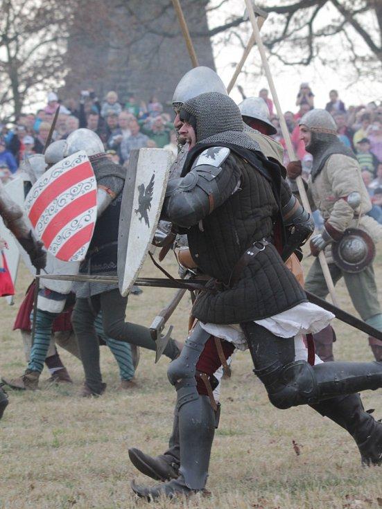 Sobotní rekonstrukci bitvy u Sudoměře přihlíželo na šest a půl tisíce diváků.