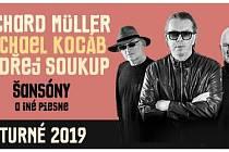 Richard Müller společně s Michalem Kocábem a Ondřejem Soukupem nabídnou lidem koncert nazvaný Šansóny a iné piesne.