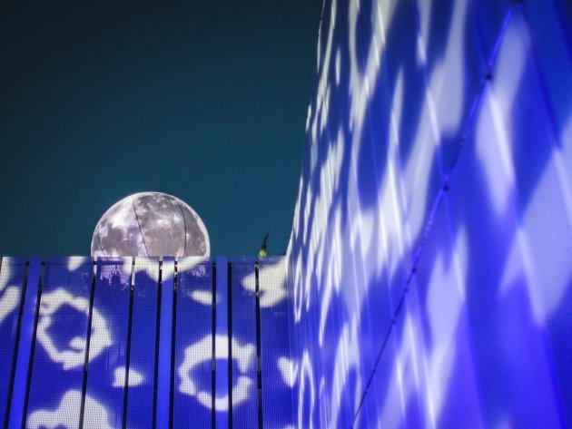 Měsíční noc na Kraví hoře. Ilustrační foto.