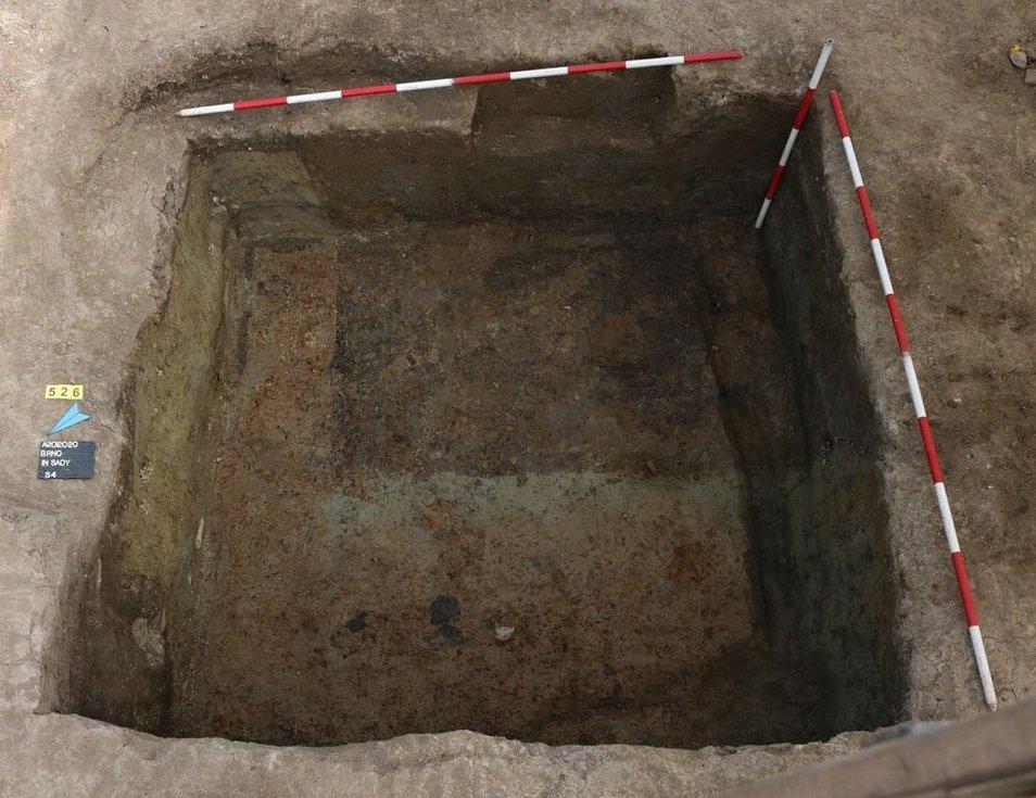 Archeologové dokončují výzkumy na Nových sadech v Brně.