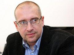 Prorektor pro strategii a vnější vztahy Mikuláš Bek.