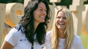 Část sportovních aktivit si vyzkoušela i ambasadorka festivalu, bývalá brněnská tenistka Lucie Šafářová.