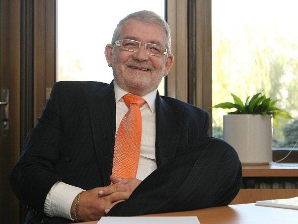 Ekonomický náměstek výstaviště Egbert Zündorf žije vBrně už čtrnáct let a považuje se za Brňana.