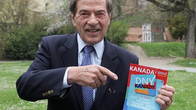 Velvyslanec Kanady v České republice Otto Jelinek se proslavil jako krasobruslařský mistr světa a politik. Jeho rodiče pocházeli z Brna, do města se proto rád vrací.