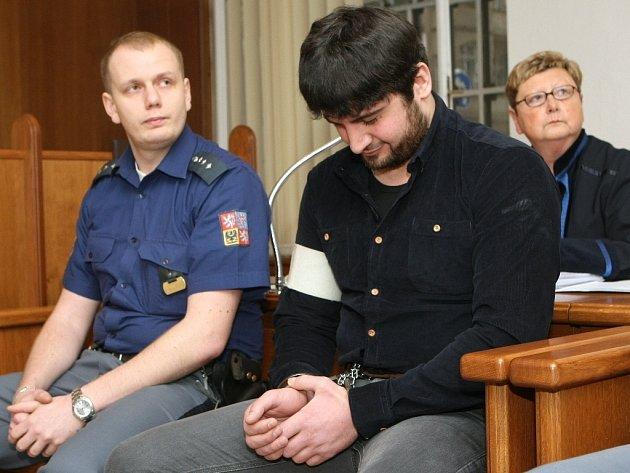 Isa Agajev a Isa Machajev u brněnského soudu.