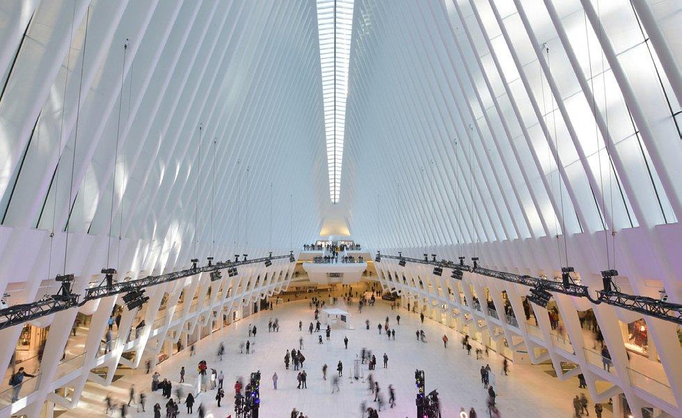 World Trade Center Transportation Hub, New York, New York, USA.