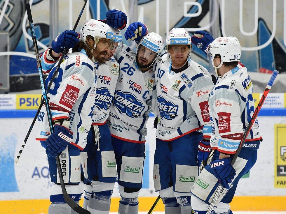 HC Kometa Brno v bílém proti HC Litvínov