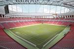 Vizualizace podoby stadionu za Lužánkami z roku 2008. Projekt je třeba upravit, aby odpovídal současným požadavkům.