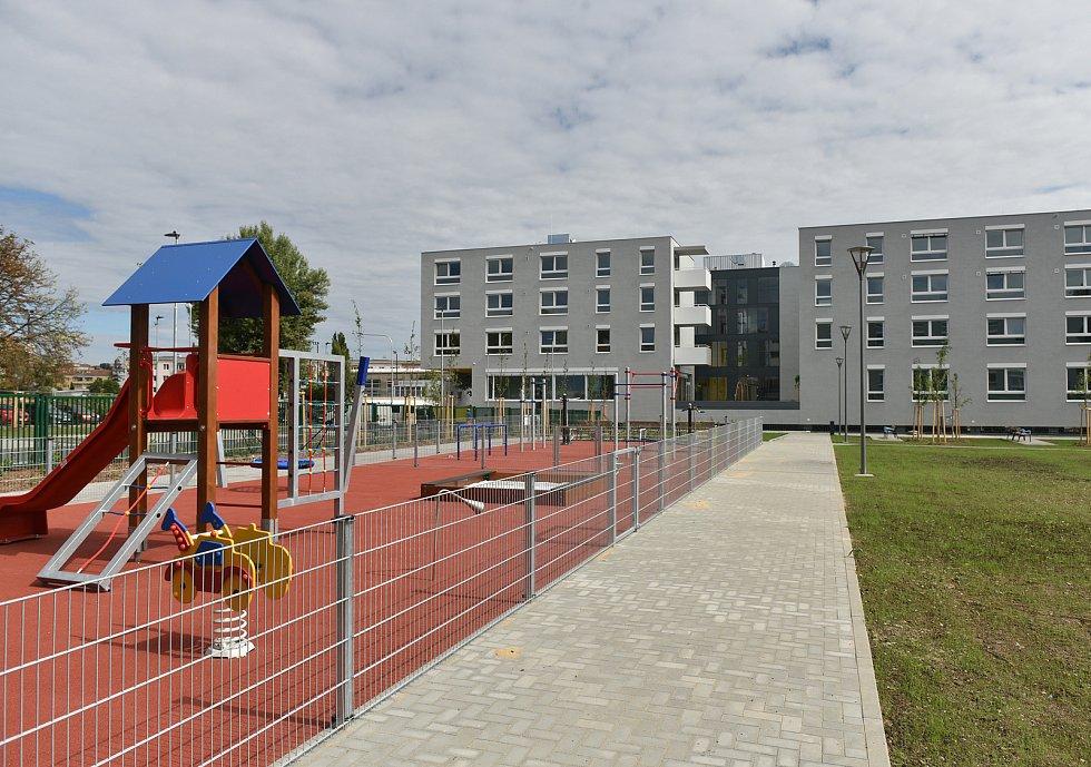 Bytový komplex Vojtova v Brně.