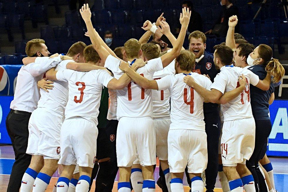 10.11.2020 - kvalifikae na mistrovství světa mezi Českou republikou v bílém a Chorvatskem