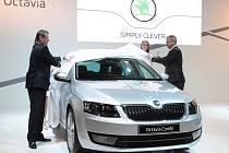 Českou premiéru si ve čtvrtek na brněnském Autosalonu odbyla nová Škoda Octavia Combi.