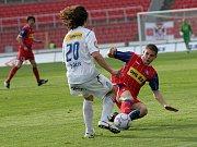 Fotbalisté 1.FC Brno remízovali s Viktorií Plzeň 2:2.