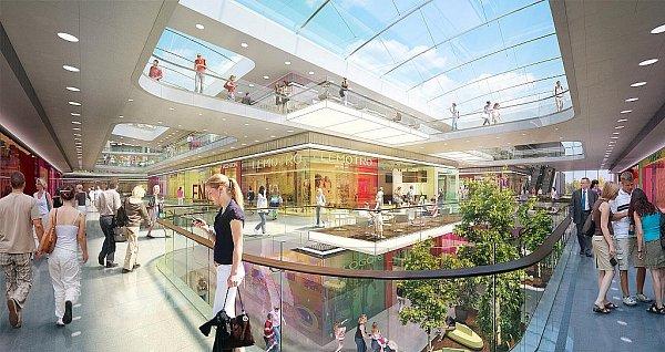 NEJVĚTŠÍ VBRNĚ. Nákupní centrum Aupark má vzniknout vedle autobusového nádraží Zvonařka. Stát má 1,8miliardy korun. Od začátku stavby bude její dokončení trvat maximálně dva roky.