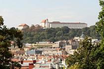 Brněnský hrad Špilberk - ilustrační fotografie.