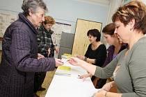 Senátní volby - ilustrační fotografie.