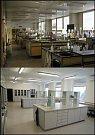 Tišnovská laboratoř je nyní po rekonstrukci.