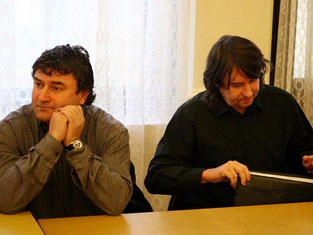 Rostislav Kračmar a Aleš Adámek.