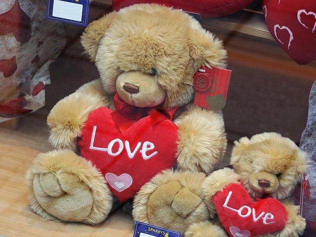 Valentýn v ulicích Brna.
