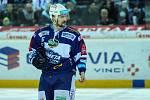 Utkání 50. kola Tipsport extraligy ledního hokeje se odehrálo 26. února 2017 v liberecké Home Credit areně. Utkaly se celky Bílí Tygři Liberec a HC Kometa Brno. Na snímku Tomáš Malec.