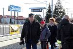 V Židlochovicích před rokem otevřeli nový vlakový terminál. Na tamní nádraží přijel vlak poprvé po čtyřiceti letech.
