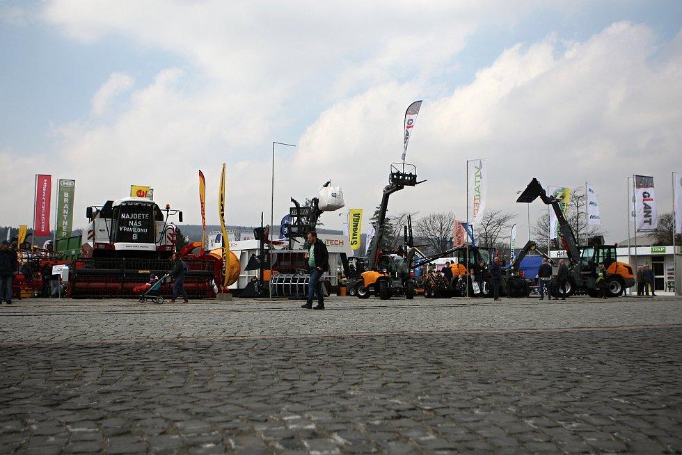Veletrh Techagro na brněnském výstavišti. Ilustrační foto