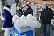 Neděle 18. února na Olympijském festivalu v areálu brněnského výstaviště.
