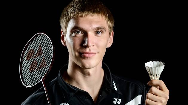 Badmintonista SK Brno Slatina Milan Ludík.
