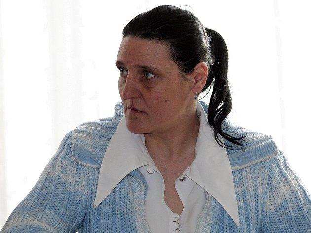 Jedenačtyřicetiletá Iveta Zápařková.
