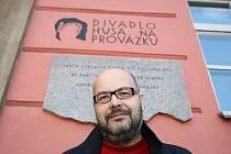 Ředitel divadla Husa na provázku Vladimír Morávek.