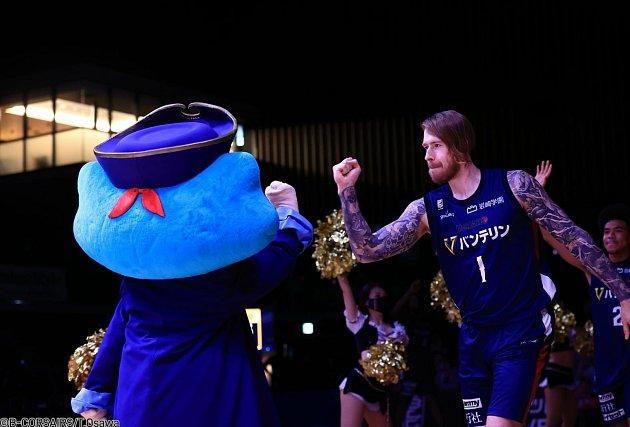 Basketbalista Patrik Auda má za sebou první sezonu vJaponsku.