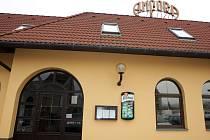 Sklepní restaurace a vinárna Amfora.