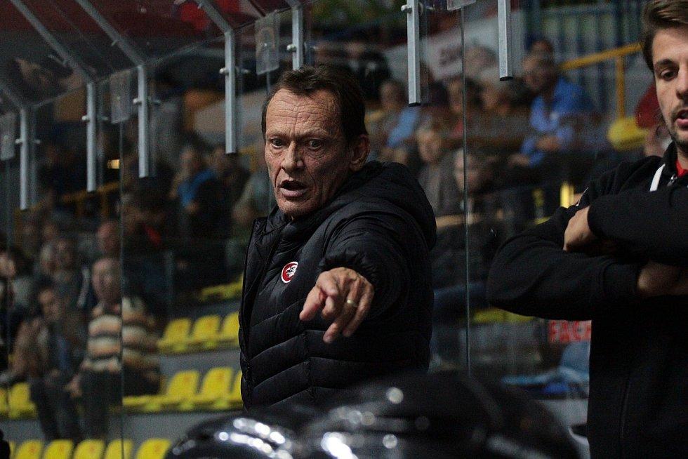 Znojemští hokejisté porazili v posledním přípravném utkání před startem mezinárodní soutěže EBEL tým z Drážďán 4:1.