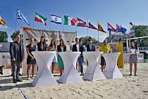 V Brna odstartoval dvouhvězdičkový turnaj Světové tour v plážovém volejbalu.