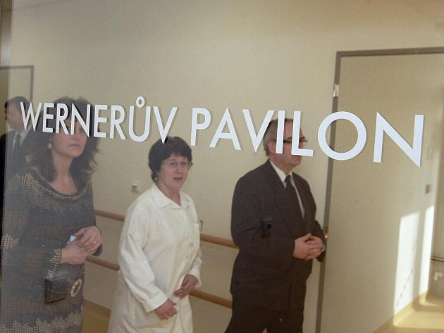 Wernerův pavilon v Masarykově onkologickém ústavu v Brně.
