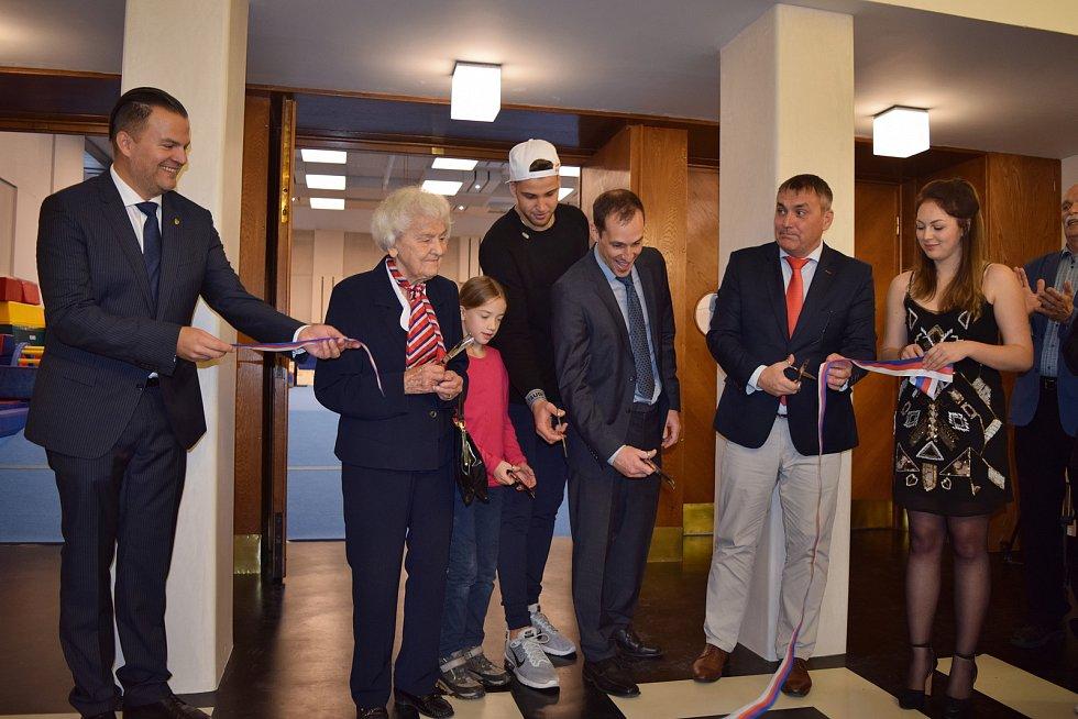 V brněnském centru Sokol v Kounicově ulici otevřeli nové dětské centrum.