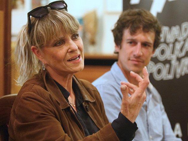 Chantal Poullain a Martin Kraus.