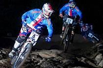 Čeští fourcrossaři v čele s Tomášem Slavíkem na mistrovství světa v Mont Sainte Anne.