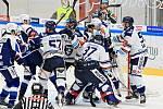 Hokejisté Komety hostili ve třetím utkání předkola play-off extraligy Vítkovice.