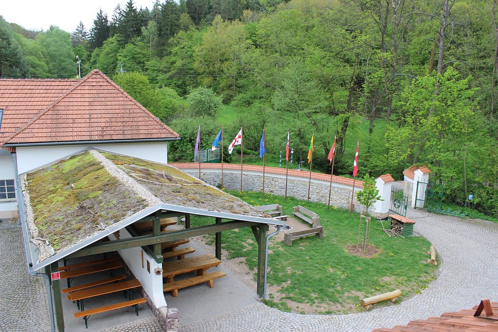 Kaprálův mlýn u Ochoze u Brna.