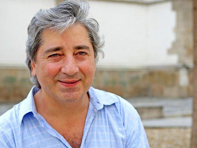 Kytarista Vladislav Bláha.