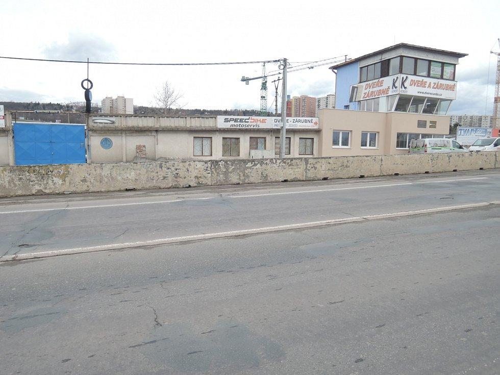 Masarykův okruh v únoru 2020.