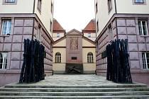Kounicovy koleje. Bývalé vězení, kde státní policie gestapo popravovala lidi.