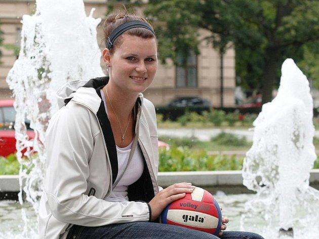 Volejbalistka Vendula Straková.