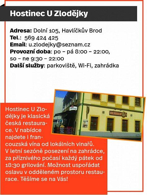 Hostinec UZlodějky, Havlíčkův Brod