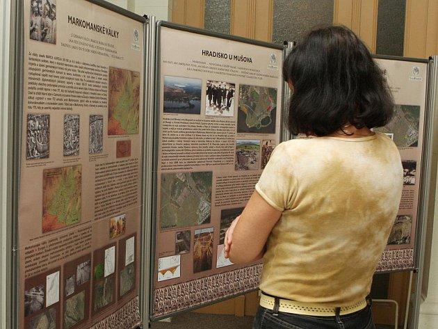 Výstava Mušov - brána jižní Moravy do Římské říše.